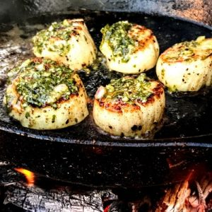 Chimichurri Scallops recipe
