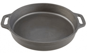 Outdoor Gourmet cast iron skillet